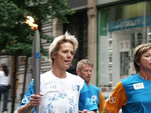Ingrid Berghmans - Image: Olympische Vlam