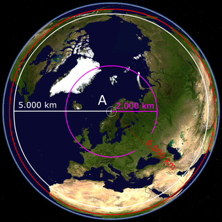 Omega (navigation system) First global radio navigation system for aircraft