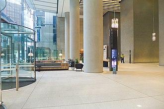 International Towers Sydney - One International Towers Sydney Office Lobby