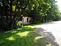 One of the old manor's buildings. View from road. July, 2011 - panoramio.jpg