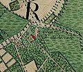 Ooidonk castle, Belgium ; Ferraris Map.jpg