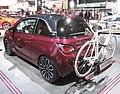 Opel-Adam berry-red w-Flexfix-bike-carrier IAA2013 LWS2864.jpg