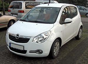 Opel Agila - Image: Opel Agila B front