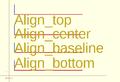 OpenSCAD text align vertical.png
