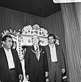 Opening IBM-schaaktoernooi in Hiltonhotel te Amsterdam, vlnr Petrosjan, Burg, Bestanddeelnr 926-5488.jpg