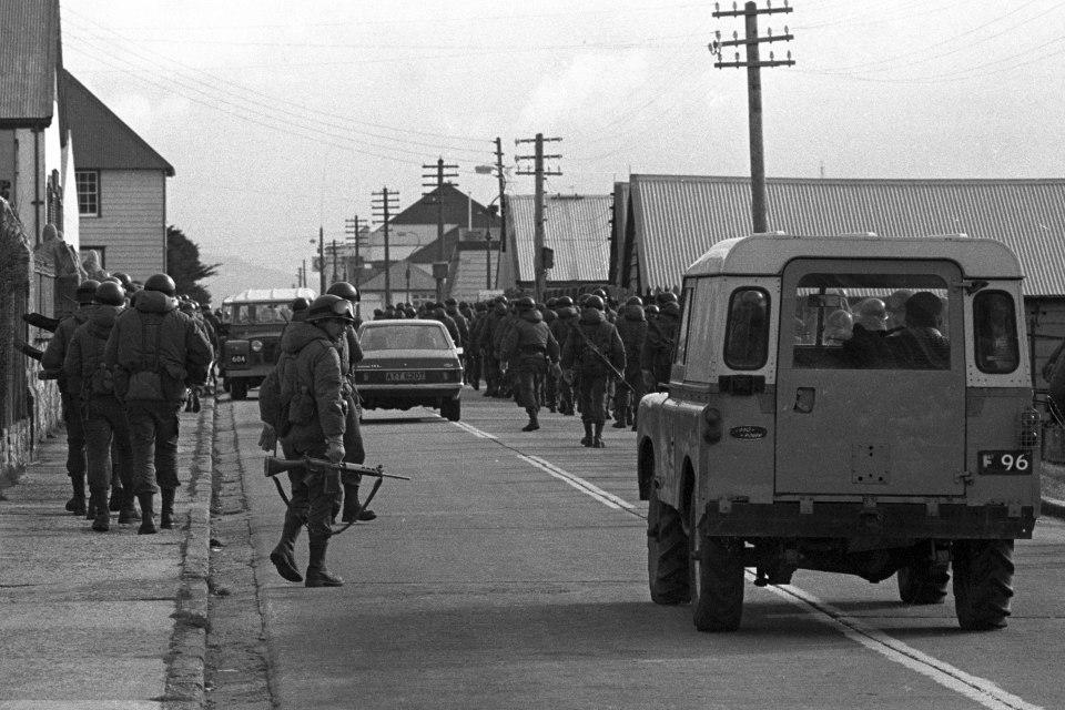 Operación Rosario-Soldados argentinos en Stanley