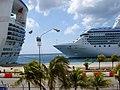 """Oranjestad Aruba """"Island Princess"""" - panoramio.jpg"""