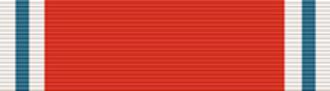 Guðmundur Kjærnested - Ribbon of a Knight of the Order of St. Olav
