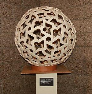 Geodesic polyhedron - Image: Order in chaos Magnus Wenninger