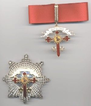 Order of Saint Michael of the Wing - Insignia of the order.
