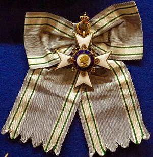 Order of Sidonia - Insignia of the Kingdom of Saxony's Sidonian Order