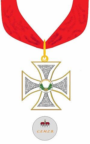 Ordre de la Concorde - Kreuz mit rückseitigem Medaillon