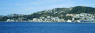 Oriental Bay - Image: Oriental Bay