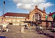 Der Hauptbahnhof Osnabr�ck wurde 1895 erbaut