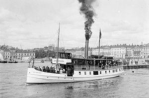 Sandvikens Skeppsdocka och Mekaniska Verkstad - Passenger ship Östra Skärgård built in 1903–1904.