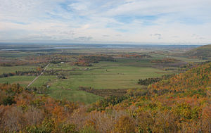 Ottawa-Bonnechere Graben - View of the Ottawa Valley from the Gatineau Hills