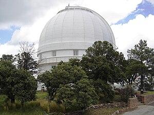 Otto Struve Telescope - The telescope's dome