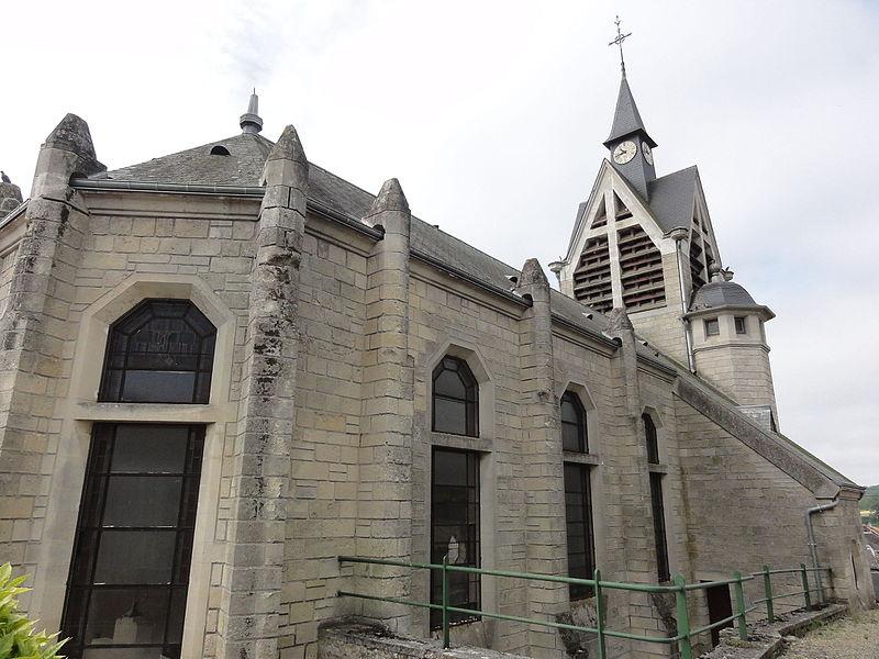 Oulches-la-Vallée-Foulon (Aisne) église