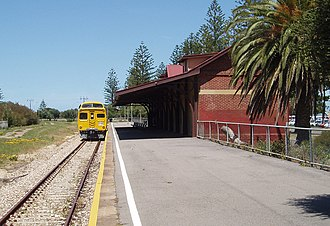 Outer Harbor railway station - Image: Outer Harbor SA