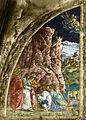 Ovetari, san giacomo 01, Vocazione di san Giacomo di Andrea Mantegna.jpg