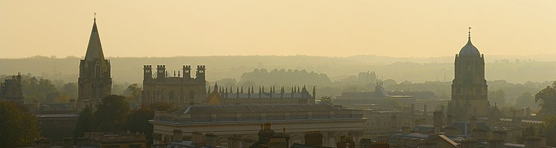 File:Oxford Skyline Panorama from St Mary's Church - Oct 2006.jpg