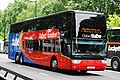 Oxford Tube bus YJ14 LFB in Park Lane, London.jpg