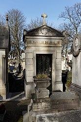Henri Mathieu: Tomb of Delsal