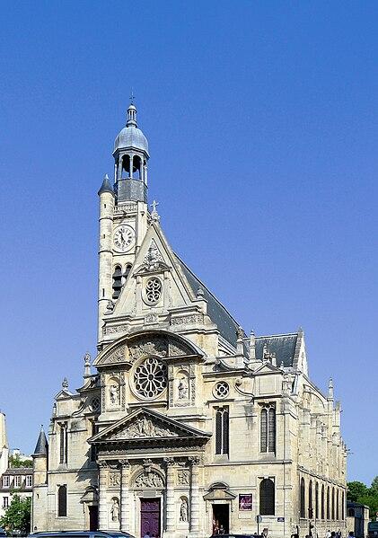 Fichier:P1020128 Paris V Eglise Saint-Etienne-du-Mont reductwk.JPG