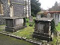Pair of chest tombs at St Mary's Rickmansworth 1173533.jpg