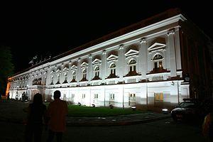 Maranhão - Palace of Lyons at night, in São Luís.