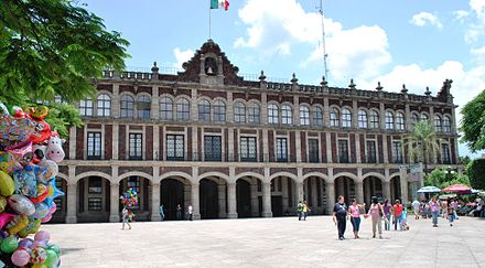 State Government Palace in Cuernavaca PalGobiernoCV.JPG