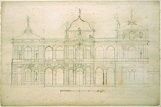 Brühl Palace, Warsaw - Image: Palac bruhla Gameren