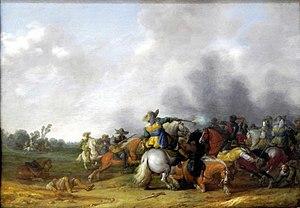 Palamedes Palamedesz - Rider's battle