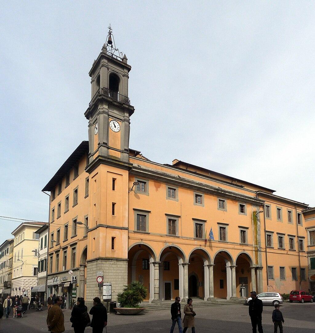 Pontedera Italy  City new picture : Palazzo Pretorio, Pontedera, Province Pisa, Tuscany, Italy