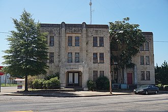 National Register of Historic Places listings in Anderson County, Texas - Image: Palestine August 2017 37 (Anderson County Jail)
