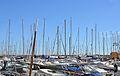 Pals d'embarcacions, port de Xàbia.JPG