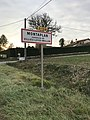 Panneau du hameau de Montaplan près de Loyes (Villieu-Loyes-Mollon, Ain, France).JPG