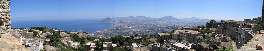 Panoramic Erice Sicily