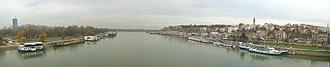 Branko's Bridge - Panoramic view from Branko's Bridge