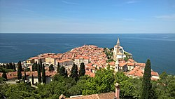 Panorama of Piran