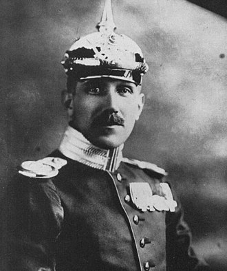 Franz von Papen - Von Papen as the German Military Attaché in Washington, DC (1914)