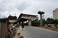 Parama-Park Circus Flyover Under Construction - John Burdon Sanderson Haldane Avenue - Kolkata 2012-07-31 0550.JPG