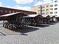 Pardubice, náměstí Jana Pernera, kola před nádražím (01).jpg