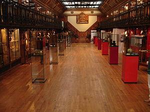 Musée d'histoire de la médecine - The main exhibit room