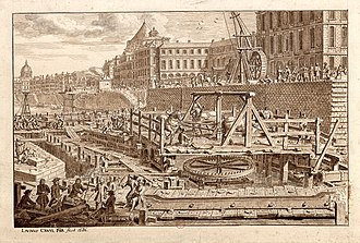 Pont Royal - Image: Paris Pont Royal 1686