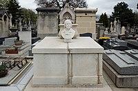Paris - Cimetière du Montparnasse - Edgar Quinet 1.jpg