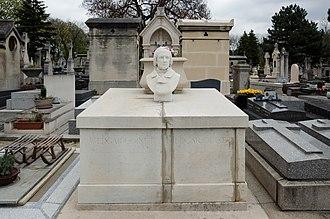 Edgar Quinet - Grave of Quinet in Montparnasse cemetery, Paris