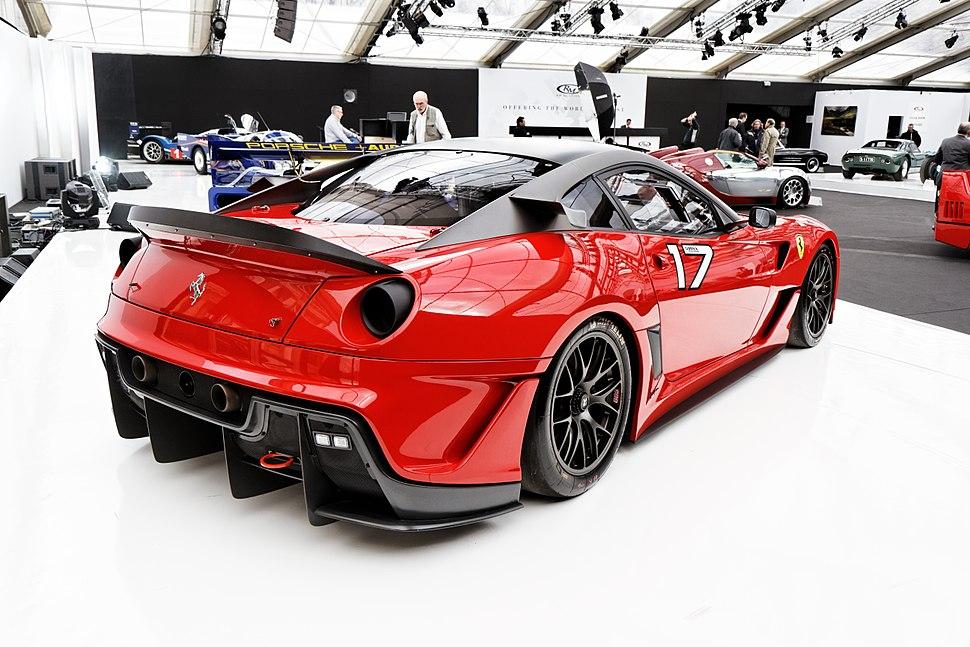 Paris - RM Auctions - 5 février 2014 - Ferrari 599XX - 2010 - 002