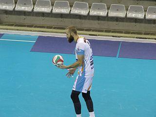 Aleš Holubec Czech volleyball player