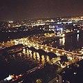 Paris vu du 18eme étage dune tour de la BNF @ nuit blanche 2012.jpeg
